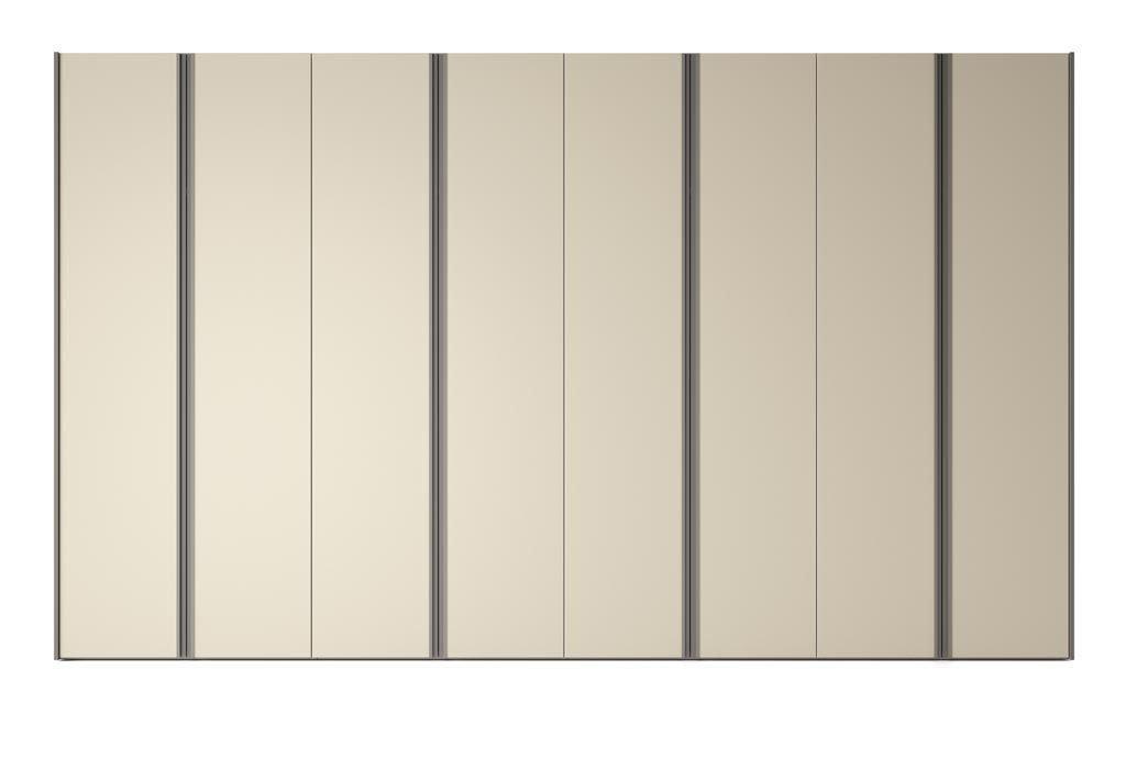 Armario de ocho puertas batientes en color Arena