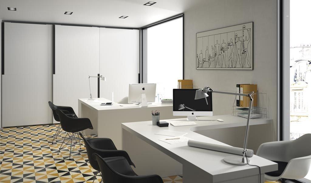 Armario corredero para oficinas modernas