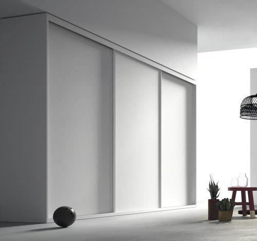 Armario empotrado corredero en color Blanco