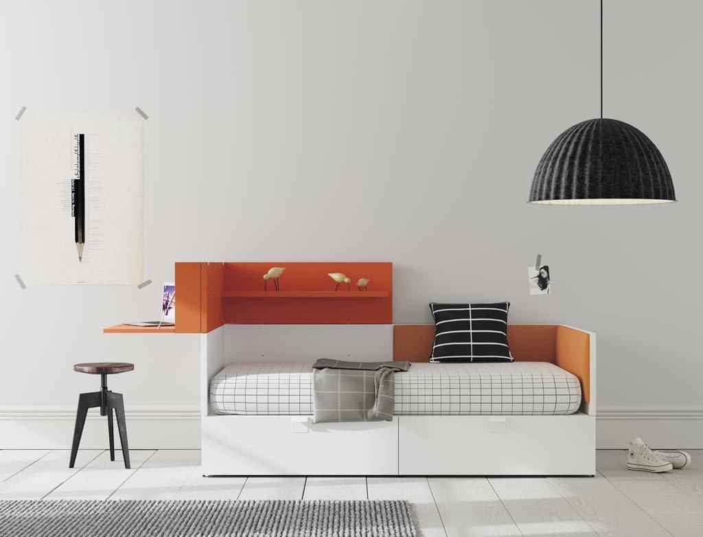 La colección NEST te permite incorporar accesorios y complementos a las camas
