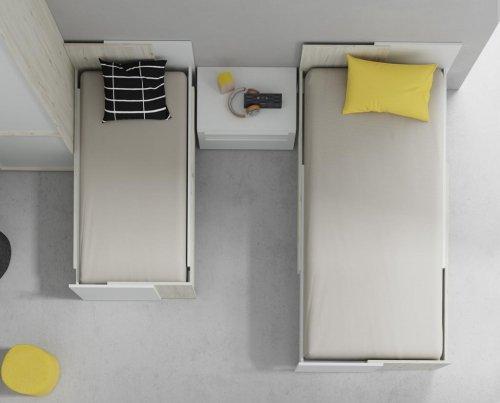 Las camas juveniles modelo GROW se adaptan a todas las edades