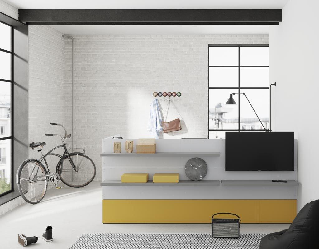 En un loft encajan a la perfección los muebles de la colección NEST