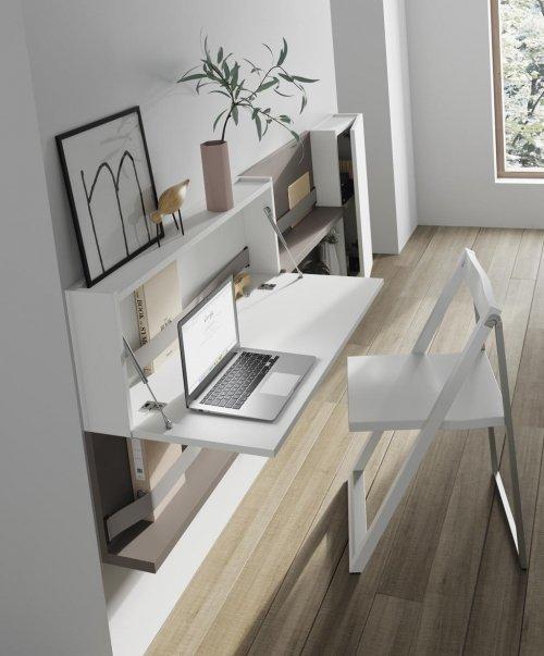 La colección FLAT la puedes colocar en pasillos u otros espacios inusuales pues ocupa muy poco espacio