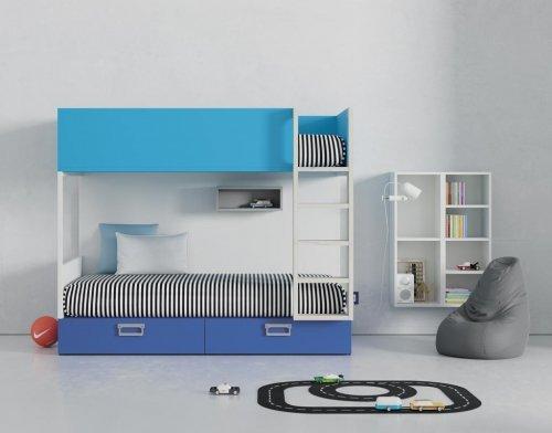 Litera juvenil modelo ALFA para habitaciones divertidas y compartidas