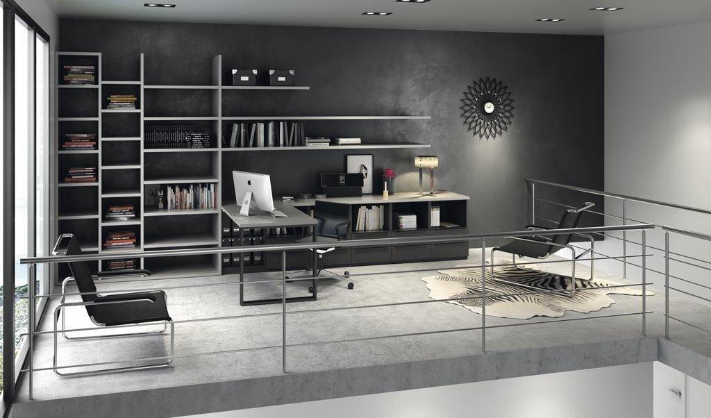 Despacho que puedes montar en casa con los muebles de la colección NOLIMITS+