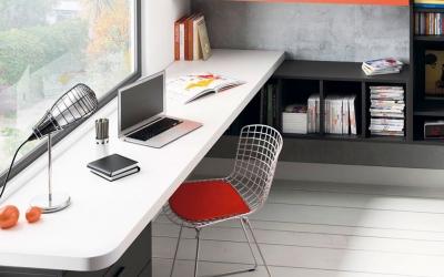 32 escritorios en dormitorios juveniles con Muebles jotajotape