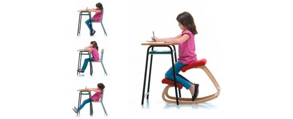Silla ergonómica para una postura correcta