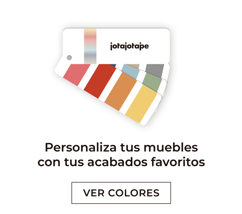 Colores y acabados para que personalices tus muebles