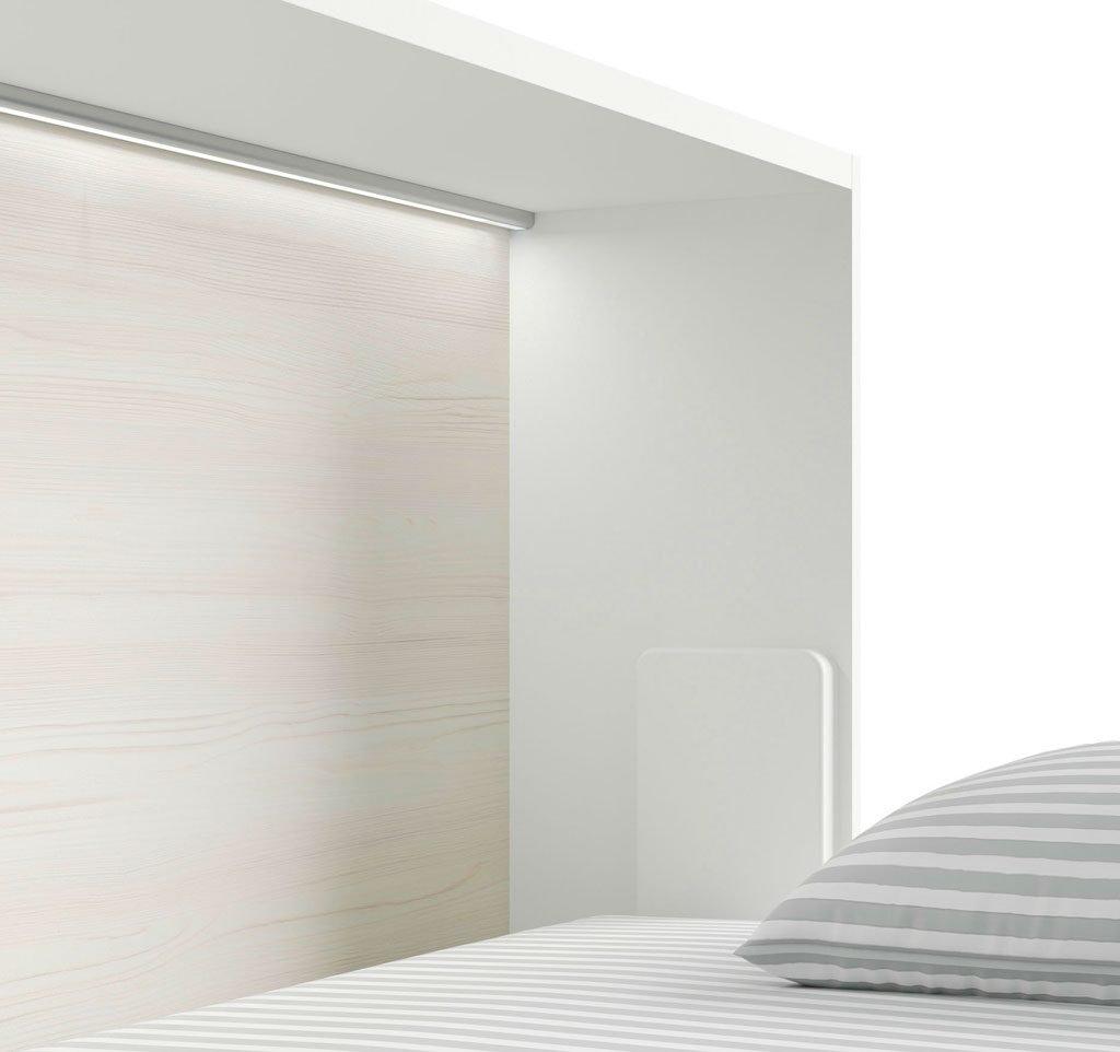 Luz led de superficie es un complemento para las camas abatibles