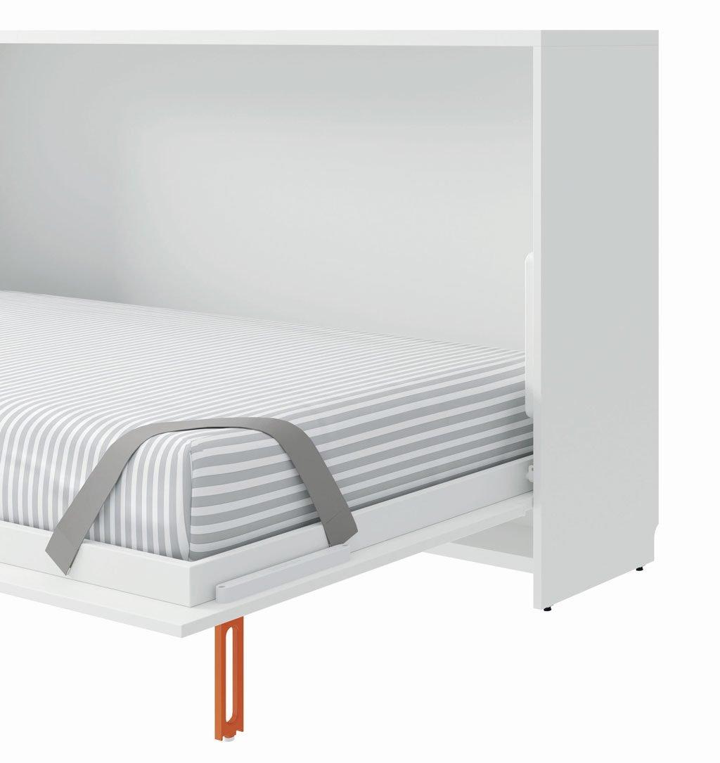 Tirador de la cama abatible horizontal que hace de pata segura