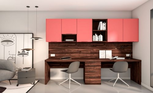 Muebles para trabajar desde casa dos personas