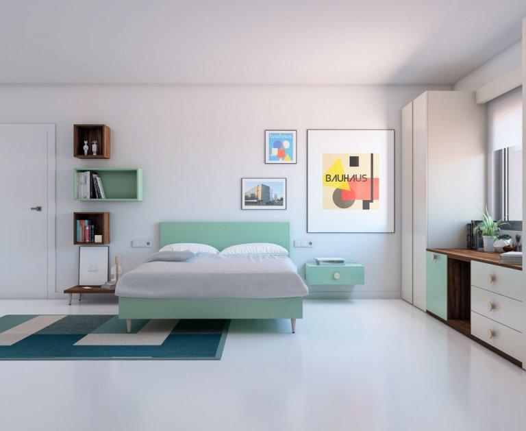 Dormitorio para adulto original. Catálogo VITA